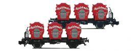 FLEISCHMANN 823302 Set Behältertransportwagen Resi-Schmelz DB   2-tlg.   Spur N online kaufen