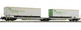 FLEISCHMANN 825006 Doppeltaschenwagen T2000 AAE | Spur N online kaufen