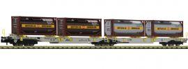 FLEISCHMANN 825007 Doppeltaschen-Gelenkwagen T2000 Bertschi AAE | Spur N online kaufen