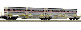 FLEISCHMANN 825011 Doppeltaschen-Gelenkwagen T2000 AAE | Spur N online kaufen