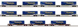 FLEISCHMANN 825017 Tragwagen-Set 7-tlg. LKW Walter | Spur N online kaufen