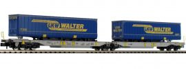 FLEISCHMANN 825019 Doppeltaschenwagen T2000 LKW Walter AAE | Spur N online kaufen