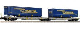 FLEISCHMANN 825020 Doppeltaschenwagen T2000 LKW Walter AAE | Spur N online kaufen
