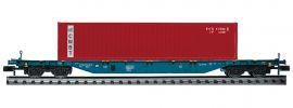 FLEISCHMANN 825212 Containertragwagen Sgns CMBT | Spur N online kaufen