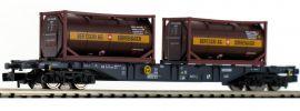 FLEISCHMANN 825213 Containertragwagen Sgns Bertschi CEMAT | Spur N online kaufen