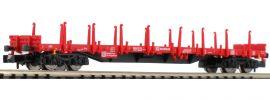 FLEISCHMANN 828709 Flachwagen Bauart Res DB AG | DC | Spur N online kaufen