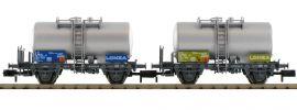 FLEISCHMANN 841009 2-tlg. Kesselwagen-Set Lonza der SBB | Spur N online kaufen