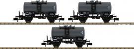 FLEISCHMANN 841601 3-tlg. Set Kesselwagen Z DB | Spur N online kaufen