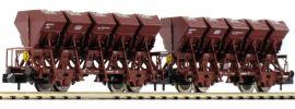 FLEISCHMANN 845101 Muldenkippwagen Bauart Ommi 51 2tlg der DB 1:160 online kaufen
