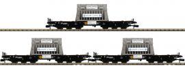 FLEISCHMANN 845511 3-tlg. Set Schwerlastwagen Samms mit Beladung DB | Spur N online kaufen