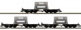 FLEISCHMANN 845512 3-tlg. Set Schwerlastwagen Samms DB | Spur N online kaufen