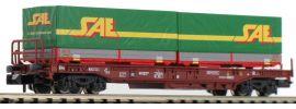 FLEISCHMANN 845370 Einheitstaschenwaggon mit 2 Wechselpritschen FS | Spur N online kaufen