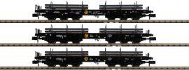 FLEISCHMANN 845513 3-tlg. Set: Schwerlastwagen Samms VPS | Spur N online kaufen