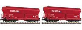 FLEISCHMANN 852317 Selbstentladewagen-Set | 2 Stück | DB AG | Spur N online kaufen