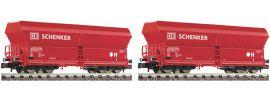 FLEISCHMANN 852318 2er Set Selbstentladewagen Falns 183 | DB AG | Spur N online kaufen