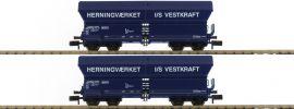 FLEISCHMANN 852325 Selbstentladewagen Falns 2tlg Set der DSB Spur N online kaufen