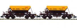 FLEISCHMANN 852502 2-tlg. Set Talbot-Schotterwagen ÖBB Infrastruktur | Spur N online kaufen