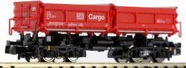 FLEISCHMANN 853101 Muldenkippwagen Bauart Fans 128 DB AG Cargo | Spur N online kaufen