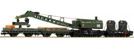 FLEISCHMANN 859902 4-tlg. Set Kranzug mit Dampfkranwagen DB | Spur N online kaufen