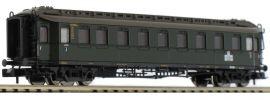 FLEISCHMANN 878101 Schnellzugwagen 3. Klasse Bauart C 4ü | DB | DC | Spur N online kaufen