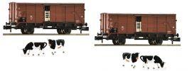 FLEISCHMANN 881804 Viehwagen Bauart G10 DB | 2-tlg. Set | Spur N online kaufen