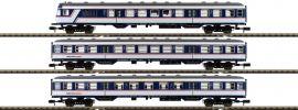 FLEISCHMANN 881903 Personenwagen National Express NX Rail | 3-tlg. Set | Spur N online kaufen