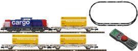 FLEISCHMANN 931485 Digital Startset BR 203 + Güterzug SBB | DCC | Spur N online kaufen
