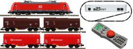 FLEISCHMANN 931885 z21 Digital-Startpackung E-Lok BR 185.1 mit Güterzug DB AG | DCC | Spur N online kaufen
