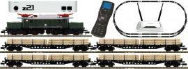 FLEISCHMANN 931886 z21 Digital-Startpackung E-Lok BR 194 mit Güterzug DB | DCC Sound | Spur N online kaufen