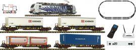 FLEISCHMANN 931891 Premium-Digitalstartset BR 193 + Güterzug | DCC Sound | Spur N online kaufen