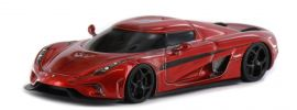 Fronti-Art AS013-77 Koenigsegg Regera Candy Apple Red metallic Automodell  1:87 online kaufen