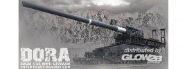Glow2B 8109999 Eisenbahngeschütz Dora 80cm (E) | Militär Bausatz 1:35 online kaufen