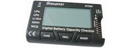 Graupner 7599 Battery Guard für Li- und Ni-Akkus | Akku Checker online kaufen