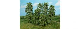 Heki 1642 Naturbäume und Büsche | dunkelgrün | 12 Stück | für Spur H0+TT+N+Z online kaufen