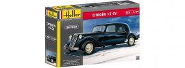 Heller 80763 Citroen 15 CV | Auto Bausatz 1:24 online kaufen