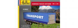 Heller 80771 Remorque Trailor Savoyarde | LKW Anhänger Bausatz 1:24 online kaufen