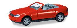 herpa 012188-004 MiniKit Mercedes-Benz SLK Roadster R170  rot  Bausatz Automodell 1:87 online kaufen
