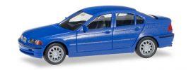 herpa 012416-006 MiniKit BMW 3er Limousine E46 blau Bausatz 1:87 online kaufen