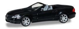 herpa 012829 MiniKit Mercedes-Benz SL R230 schwarz Bausatz 1:87 online kaufen