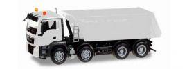 herpa 013024 MiniKit MAN TGS M E6 Muldenkipper 4achs weiss Bausatz 1:87 online kaufen