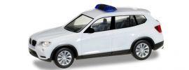 herpa 013130 MiniKit BMW X3 weiss unbedruckt Blaulichtmodell Bausatz 1:87 online kaufen