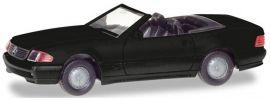 herpa 013222 MiKi MB SL500 Roadster schwarz | Bausatz 1:87 online kaufen