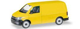 herpa 013277 MiKi VW T6 Kasten gelb | Bausatz 1:87 online kaufen
