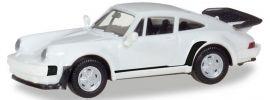 herpa 013307 MiKi Porsche 911 Turbo weiss | Bausatz 1:87 online kaufen