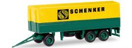 herpa 013338 MiKi Planen Hänger 3a Schenker | Bausatz 1:87 online kaufen