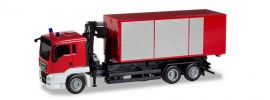 herpa 013406 MiniKit MAN TGS L Euro6  Wechsellader-LKW Feuerwehr Bausatz 1:87 online kaufen