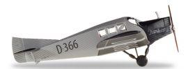 herpa WINGS 019378 Junkers F13 Junkers Deutsches  Museum München Flugzeugmodell 1:87 online kaufen