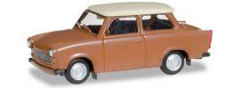 herpa 020763-004 Trabant 601 Limousine braun Automodell 1:87 online kaufen