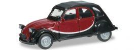 herpa 020817-002 Citroen 2CV Charleston, schwarz/weinrot Automodell 1:87 online kaufen
