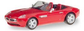 herpa 022897-002 BMW Z8 rot Automodell 1:87 online kaufen